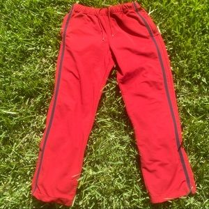 Vintage 90's GAP Striped Jogger Track Pants Med